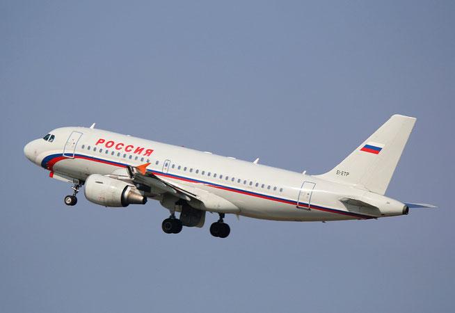 """A 319-112  """" EI-ETP """"  Rossiya -2"""