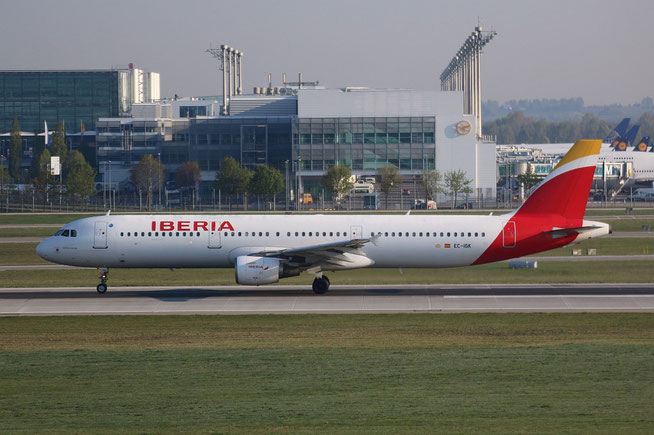 "A 321-211 "" EC-IGK ""  Iberia -2"