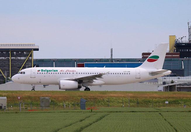 """A 320-231  """" LZ-LAA """"  Bulgarian Air Charter -1"""