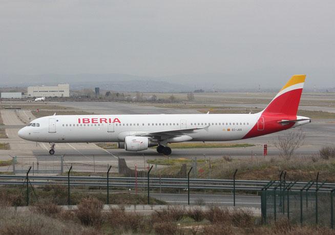 """A 321-211 """" EC-JGS """"  Iberia -1"""