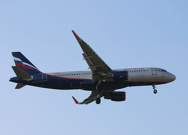 """A 320-214/W  """" VQ-BRW """"  Aeroflot -1"""