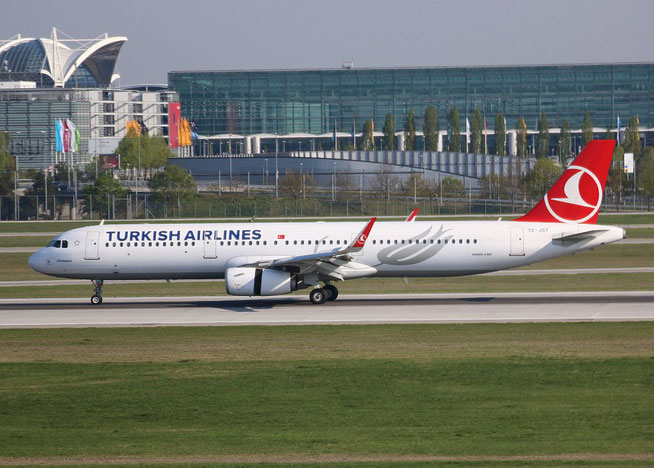 "A 321-231/W "" TC-JST ""  Turkish Airlines -2"