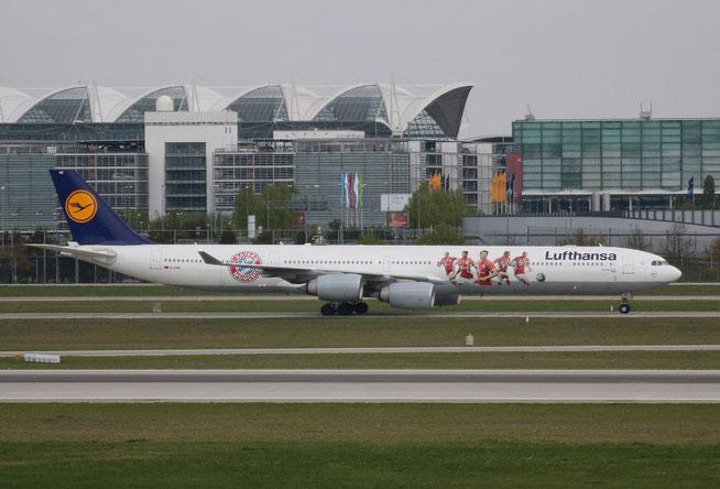 """A 340-642  """" D-AIHK """"  Lufthansa -1"""