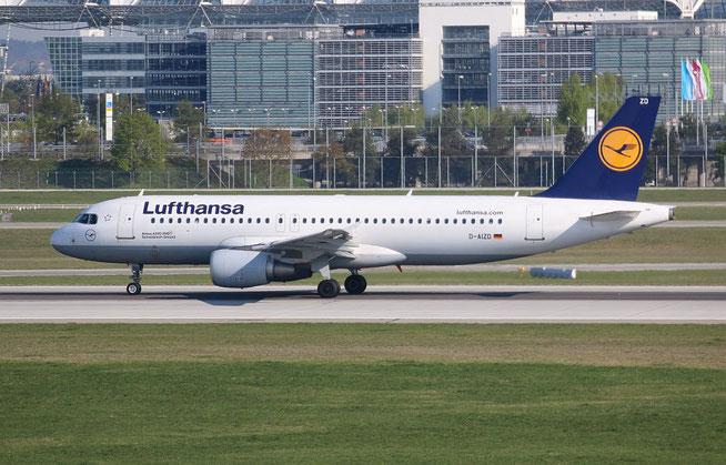 """A 320-214  """" D-AIZD """"  Lufthansa -1"""