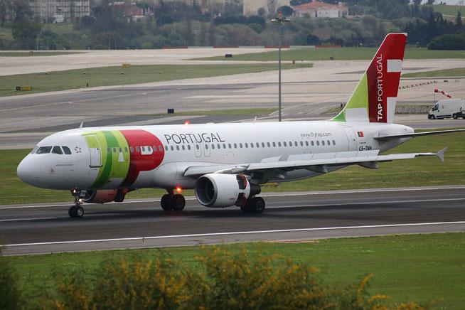"""A 320-214  """" CS-TNH """" TAP-Air Portugal -8"""