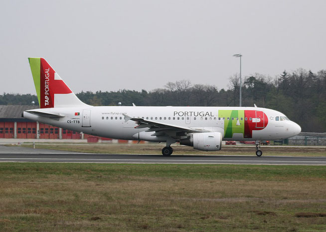 "A 319-111 "" CS-TTB ""  TAP Air Portugal -2"