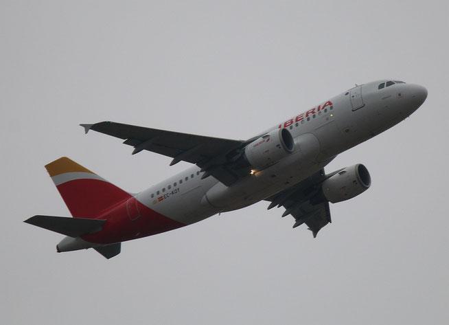 "A 319-111  "" EC-KOY "" Iberia -1"