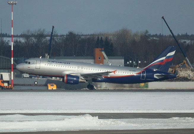 """A 320-214  """" VQ-BHN """"  Aeroflot -1"""