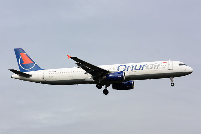 "A 321-231  "" TC-OBK ""  Onur Air -1"