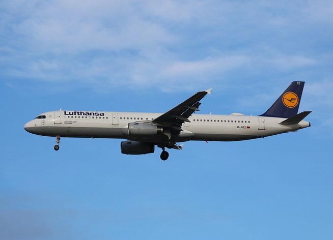 "A 321-231  "" D-AISZ ""  Lufthansa -2"