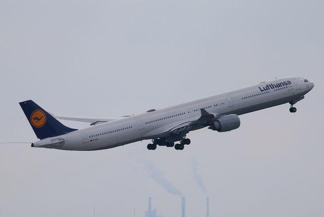 """A 340-642X HGW  """" D-AIHT """"  Lufthansa -3"""