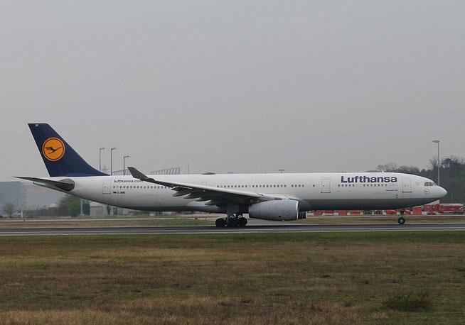"""A 330-343 """" D-AIKI """" Lufthansa -1"""