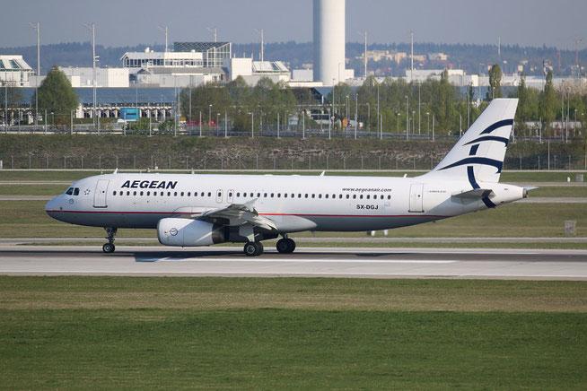 "A 320-232 "" SX-DGJ "" Aegean Airlines -2"