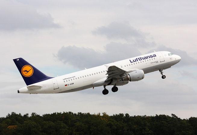 """A 320-211  """" D-AIQW """"  Lufthansa -2"""