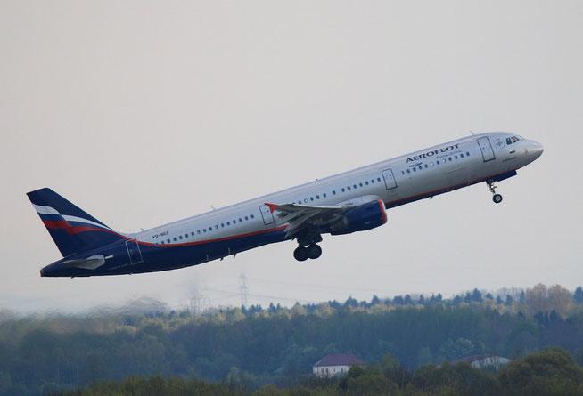 """A 321-211  """" VQ-BEF """" Aeroflot -1"""