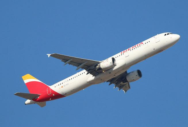 """A 321-211 """" EC-ILO """"  Iberia -3"""