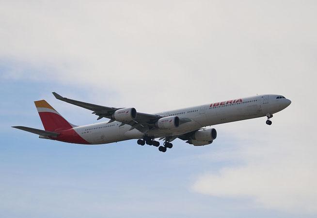 "A 340-642  "" EC-INO ""  Iberia -1"