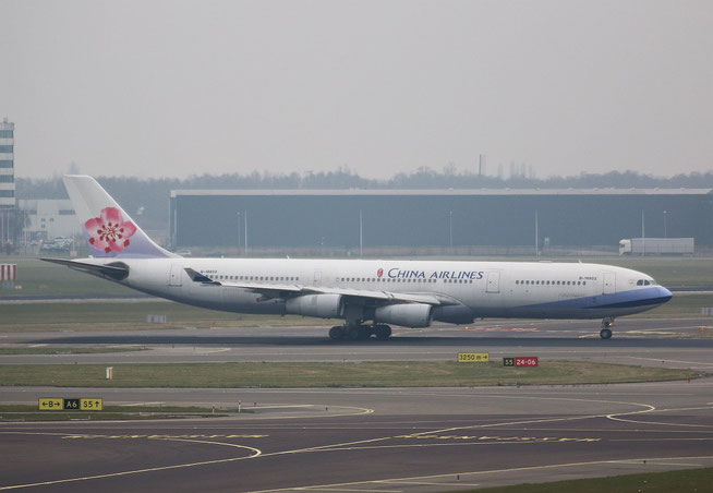 """A 340-313  """" B-18803 """"  China Airlines -1"""