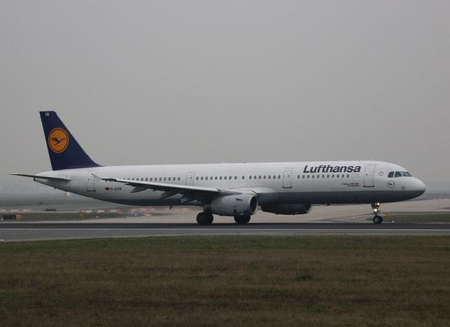 "A 321-231  "" D-AISR ""  Lufthansa -1"