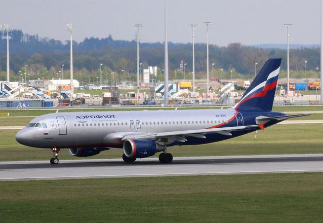 "A 320-214  "" VQ-BKU ""  Aeroflot -1"