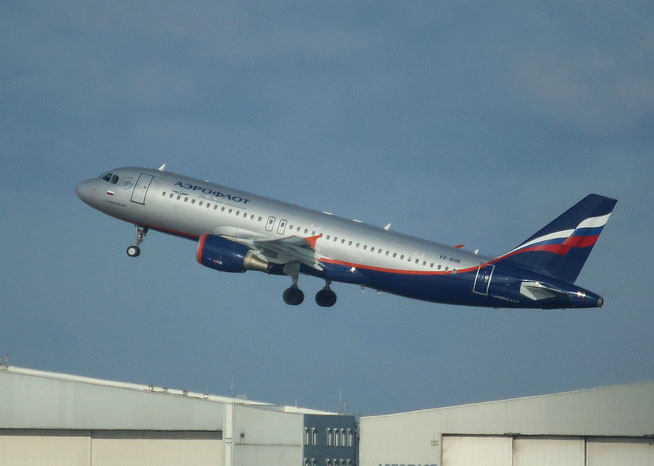 """A 320-214  """" VQ-BHN """"  Aeroflot -2"""
