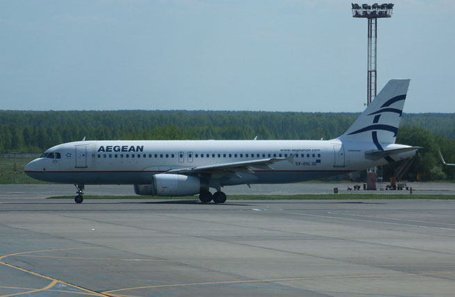 """A 320-232 """" SX-DVL """" Aegean Airlines -1"""