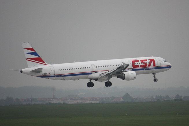 A321 OK-CED-1