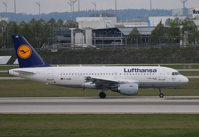 """A 319-114 """" D-AIBB """" Lufthansa -3"""