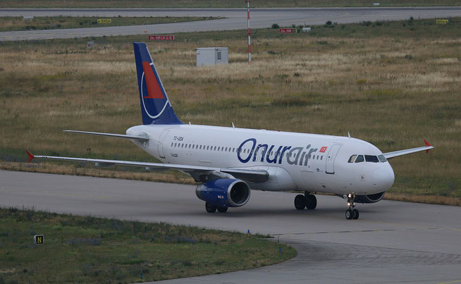 "A 320-233  "" TC-ODA ""  Onur Air -2"