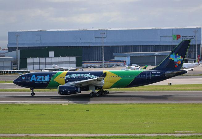 """A330-243  """" PR-AIV """"  AZUL Linhas Aereas Brasileiras -1"""
