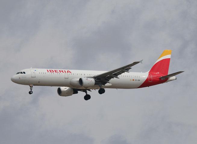"A 321-211 "" EC-IGK ""  Iberia -3"