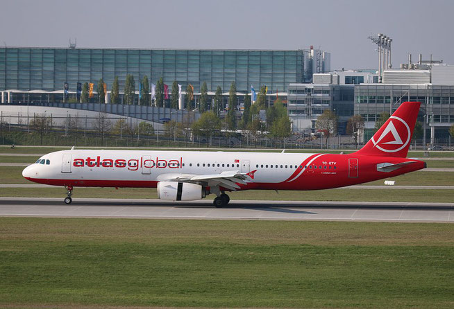 "A 321-211  "" TC-ETV ""  AtlasJet -2"