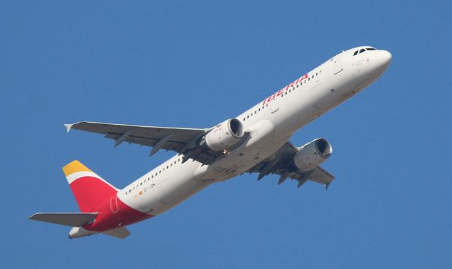 """A 321-212 """" EC-JZM """"  Iberia -3"""