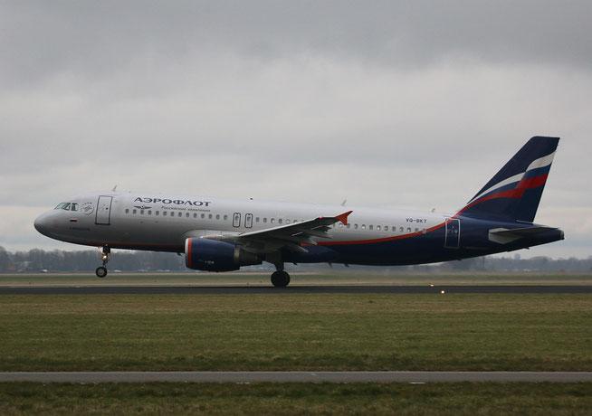 """A 320-214  """" VQ-BKT """"  Aeroflot -1"""