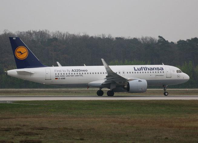 """A320-271n (W) """" D-AINB """"  Lufthansa -2"""