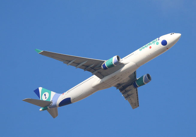 "A 330-343  "" EC-MII ""  Evelop Airlines -1"