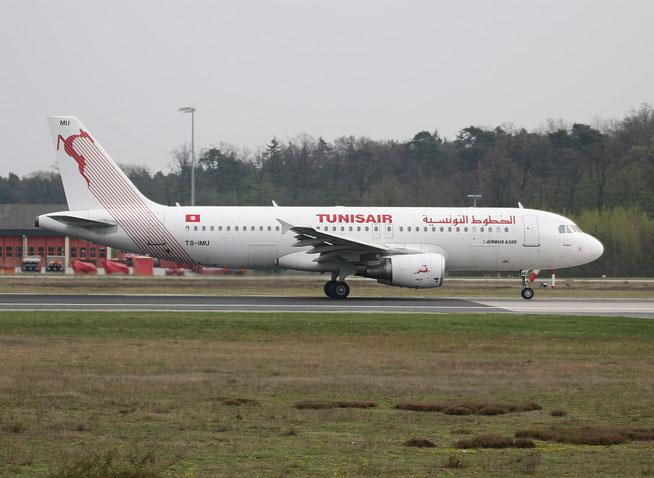 """A 320-214 """" TS-IMU """"  Tunisair -1"""