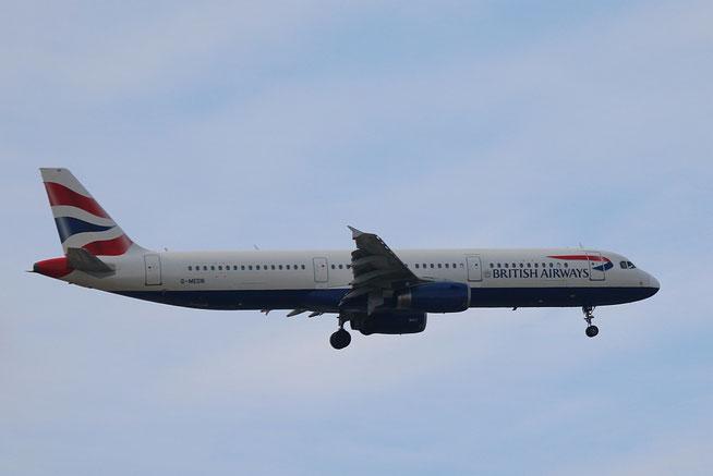 """A 321-231 """" G-MEDN """"  British Airways -1"""