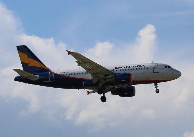 "A 319-111  "" VP-BWJ ""   Donavia ( Aeroflot ) -3"