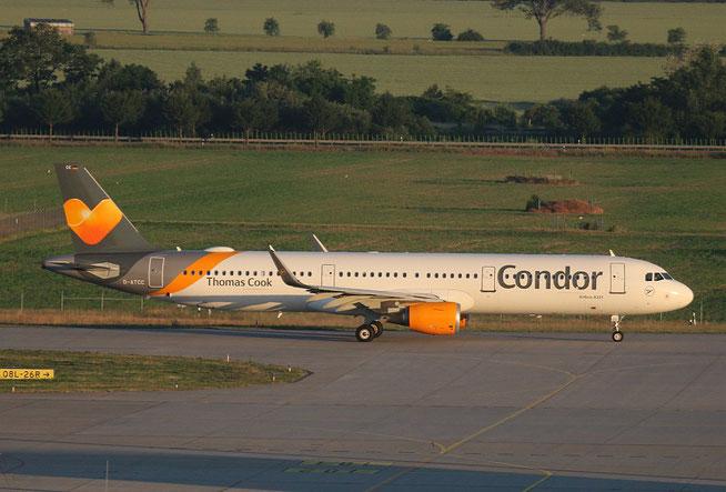 """A 321-211  """" D-ATCC """"  Condor -2"""