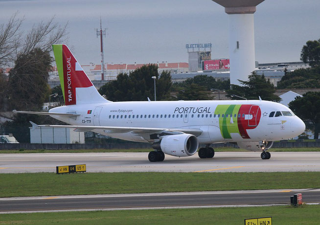 "A 319-111 "" CS-TTF ""  TAP Air Portugal -2"
