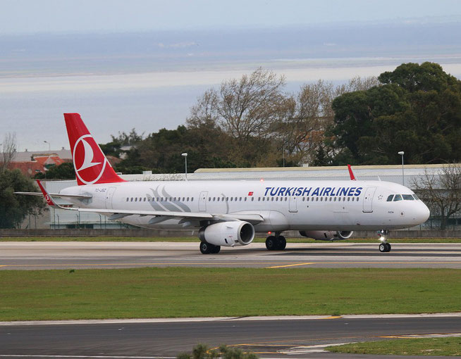 "A 321-231/W "" TC-JSZ ""  Turkish Airlines -2"