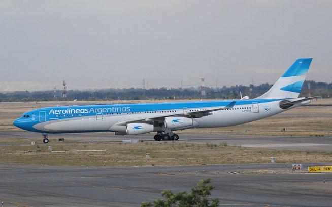 A340 LV-CSX-1