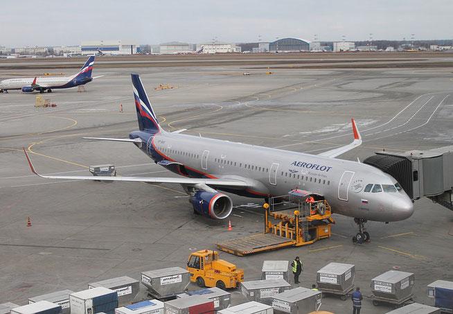 """A 321-211/W  """" VP-BAX """" Aeroflot -1"""