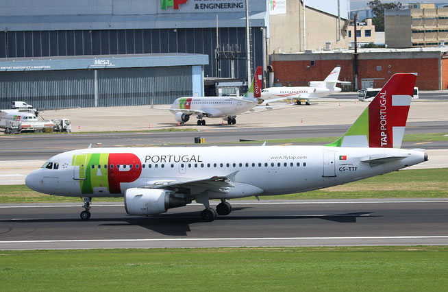 "A 319-111 "" CS-TTF ""  TAP Air Portugal -3"