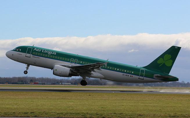"A 320-214 "" EI-DEN ""  Aer Lingus -1"