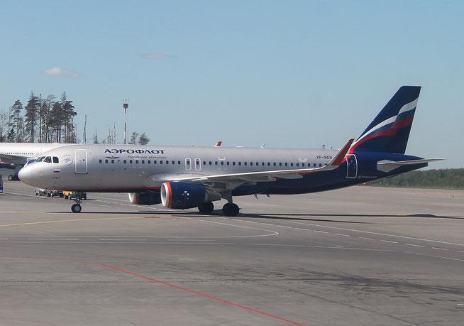 """A 320-214/WL  """" VP-BEO """" Aeroflot -1"""