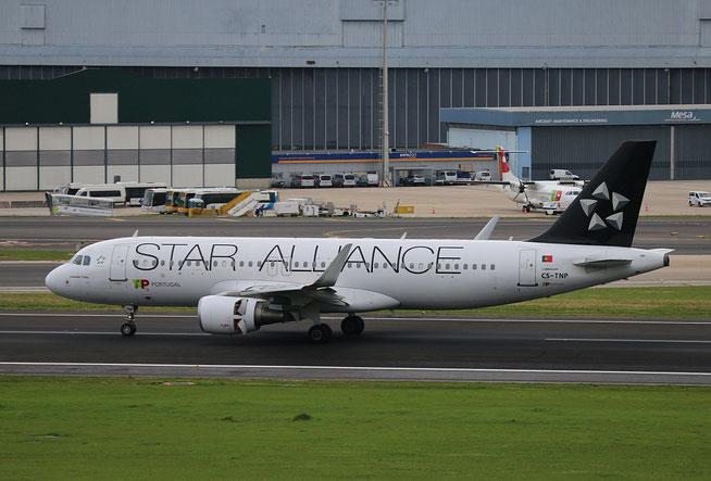 """A 320-214  """" CS-TNP """" TAP-Air Portugal -4"""