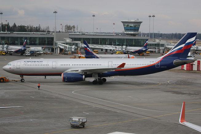 """A 330-343  """" VP-BDE """"  Aeroflot -1"""