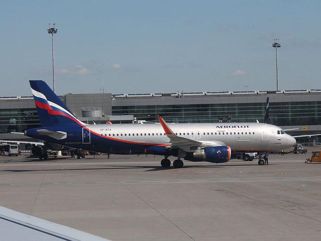 "A 320-214/WL  "" VP-BTA ""  Aeroflot -1"
